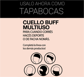 TAPABOCAS  - BUFF INVIERNO - TRIANGULO PUNTITOS
