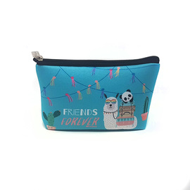 CARTUCHERA SIMPLE SIMIL NEOPREN - FRIENDS