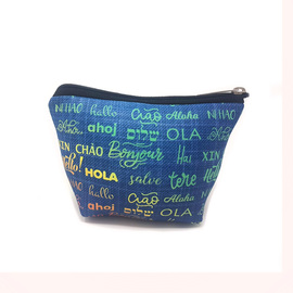 CARTUCHERA SIMPLE SIMIL NEOPREN / NECESER - HOLA