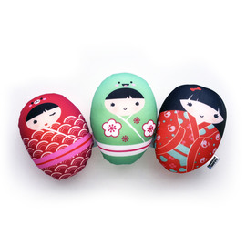 HUEVITOS SOFT KOKESHI Pack x 3 Unidades - SALE - HASTA AGOTAR STOCK - SUPER SALE!!! -