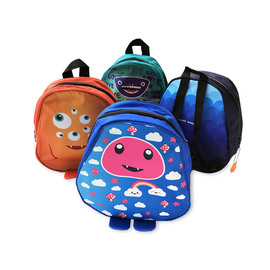 PACK X 4 UNIDADES  MOCHILAS MONSTRUOS - SUPER SALE!!! -